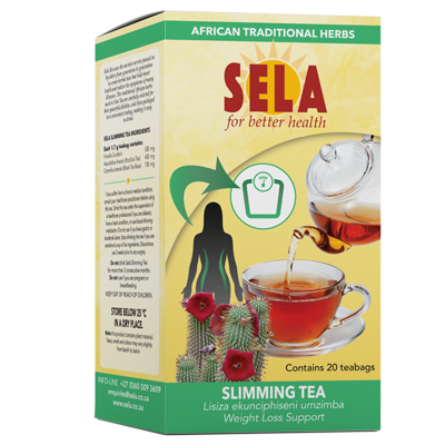 Sela for better health Slimming tea with Hoodia Gordonii